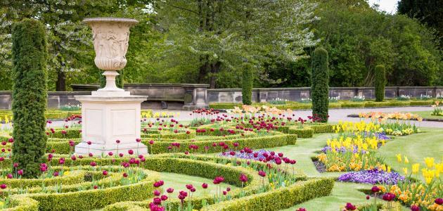 صورة تعبير عن الحدائق , موضوع مبهج عن المساحات الخضراء 1916 1