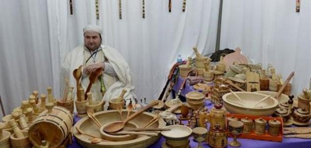 صورة الحرف اليدوية في الجزائر , الصناعات اليدوية بشكلها الجزائري