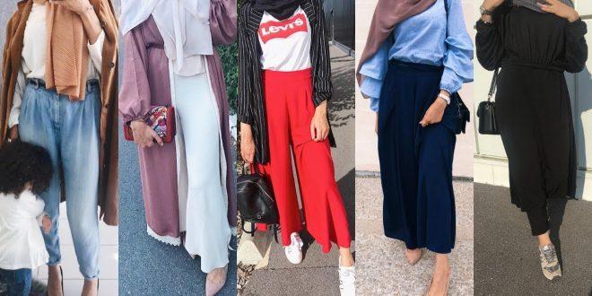 صورة ملابس للمحجبات 2019 , الحجاب واناقتك فى ٢٠١٩